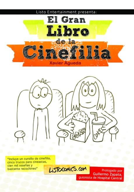 La portada de El gran libro de la cinefilia